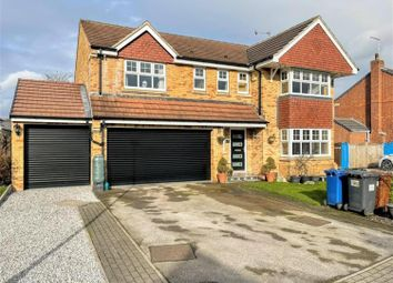 Thumbnail 5 bed detached house for sale in Briery Meadows, Hemingfield, Barnsley