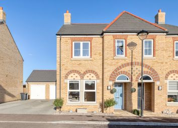 Thumbnail 3 bedroom semi-detached house for sale in Louise Rise, Fairfield, Hitchin