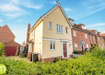 Thumbnail 3 bed end terrace house for sale in Elmstead Road, Colchester