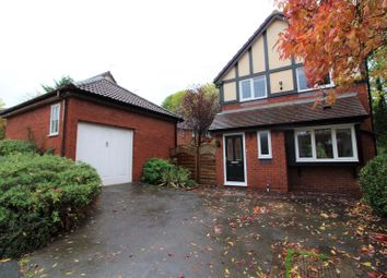 Thumbnail 3 bed detached house for sale in Foxwood Drive, Wrexham