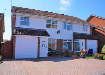 Thumbnail 3 bed semi-detached house for sale in Roundway Down, Swindon