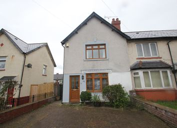 Thumbnail 2 bed semi-detached house to rent in Pengwern Road, Cardiff