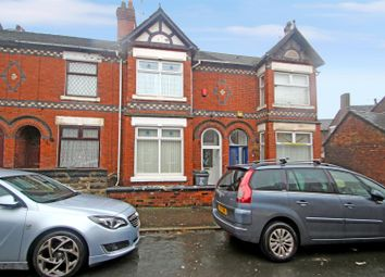 Thumbnail 3 bed terraced house for sale in Dartmouth Street, Burslem, Stoke-On-Trent