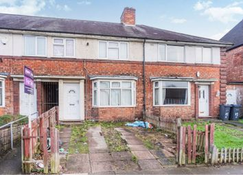 Thumbnail 3 bed terraced house for sale in Hartley Road, Birmingham