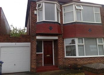Thumbnail 3 bed semi-detached house to rent in Cloverdale Gardens, High Heaton, Newcastle Upon Tyne