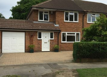 Thumbnail 3 bedroom semi-detached house to rent in Cuckmans Drive, St. Albans