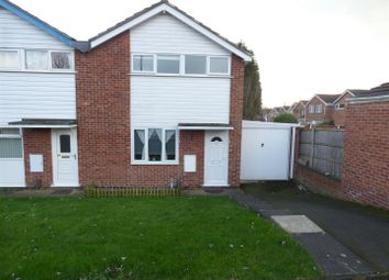 Thumbnail 3 bed semi-detached house for sale in Hains Close, Sinfin, Derby