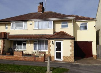Thumbnail 3 bed semi-detached house for sale in Norman Road, Gorse Hill, Swindon