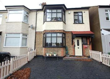 Thumbnail 3 bedroom end terrace house for sale in Lyndhurst Drive, Hornchurch