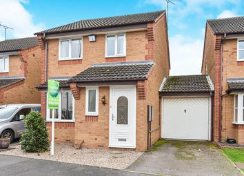Thumbnail 3 bedroom link-detached house for sale in Culland Road, Branston, Burton-On-Trent