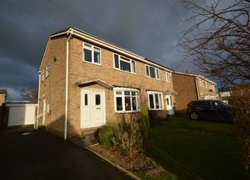 Thumbnail 3 bed semi-detached house for sale in Longlands Road, Ossett