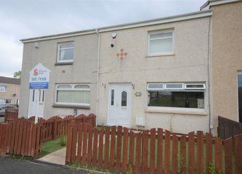 Thumbnail 2 bed terraced house to rent in Hazeldene Lane, Larkhall, South Lanarkshire