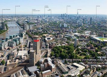 Thumbnail 2 bed flat for sale in Keybridge Lofts, South Lambeth Road, Vauxhall