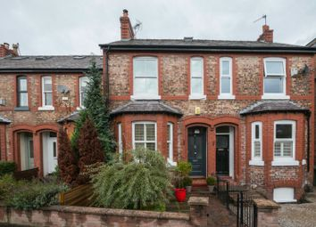 Thumbnail 3 bed terraced house for sale in Stamford Park Road, Altrincham