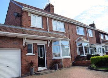 Thumbnail 3 bed semi-detached house for sale in Longston Avenue, North Shields
