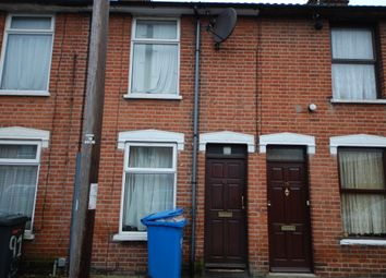 Thumbnail 2 bed terraced house to rent in Schreiber Road, Ipswich, Suffolk