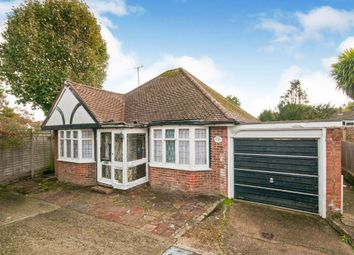 Thumbnail 3 bedroom detached bungalow for sale in Willingdon Close, Eastbourne