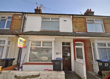 Thumbnail 2 bed terraced house for sale in Cheriton Avenue, Ramsgate, Kent