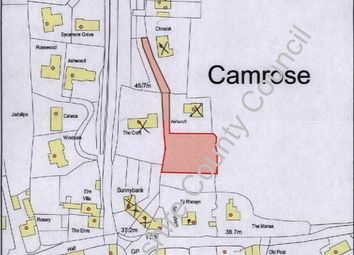 Thumbnail Land for sale in Camrose, Haverfordwest