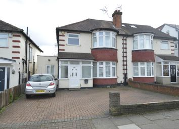 Thumbnail 4 bedroom semi-detached house for sale in Holmstall Avenue, Edgware, Middlesex