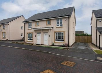 Thumbnail 3 bed semi-detached house for sale in Tom Mccabe Gardens, Hamilton, South Lanarkshire