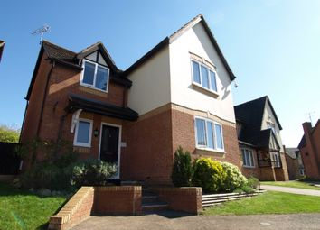 Thumbnail 4 bed detached house for sale in Newbolt Close, Newport Pagnell, Buckinghamshire
