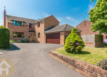 Thumbnail 5 bed detached house for sale in Broad Town, Swindon