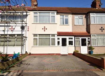 Thumbnail 3 bed terraced house for sale in Dellwood Gardens, Clayhall, Ilford, Essex