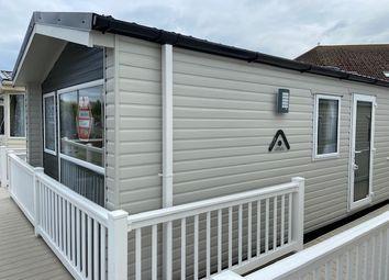 Thumbnail 3 bed mobile/park home for sale in Golden Sands Holiday Park, Week Lane, Dawlish Warren, Dawlish, Devon