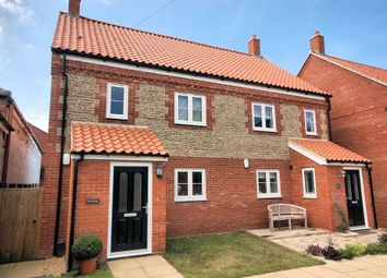 Thumbnail 3 bed semi-detached house for sale in Morston Road, Blakeney, Holt