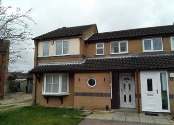 Thumbnail 1 bed terraced house for sale in Ridgewell Close, Lincoln