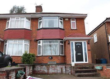 Thumbnail 3 bed semi-detached house for sale in Honeypot Lane, Stanmore