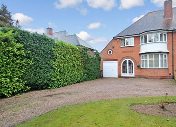 Thumbnail 4 bed semi-detached house for sale in St. Bernards Road, Solihull