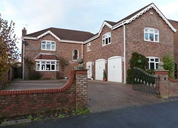 Thumbnail 5 bedroom detached house for sale in Ashwood Close, Burton-Upon-Stather, Scunthorpe
