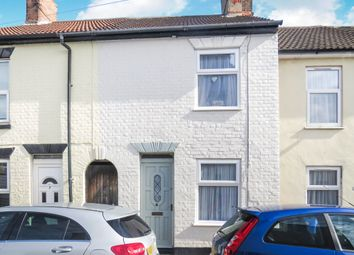 Thumbnail 2 bed terraced house for sale in Alma Street, Lowestoft