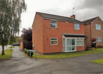 Thumbnail 3 bedroom detached house for sale in Tyler Road, Ratby
