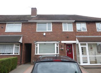 Thumbnail 3 bedroom terraced house to rent in Brackenfield Road, Great Barr, Birmingham