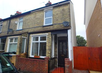 Thumbnail 2 bed end terrace house for sale in Suffolk Road, Gravesend