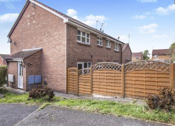Thumbnail 1 bed end terrace house for sale in Hewes Close, Glen Parva, Leicester