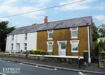 Thumbnail 2 bed semi-detached house for sale in Carmarthen Road, Cross Hands, Llanelli, Carmarthenshire