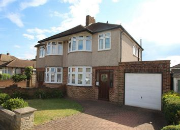 Thumbnail 3 bed semi-detached house for sale in Towncourt Lane, Petts Wood, Kent