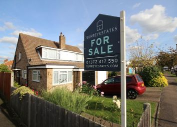 Thumbnail 3 bed semi-detached house for sale in Larkspur Way, West Ewell, Epsom