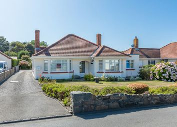 Thumbnail 4 bed detached bungalow for sale in Route Militaire, St. Sampson, Guernsey