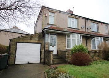 Thumbnail 3 bed semi-detached house to rent in Bolton Crescent, Bradford