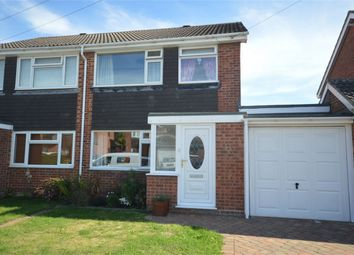 Thumbnail 3 bed semi-detached house for sale in Woodyard Close, Mulbarton, Norwich
