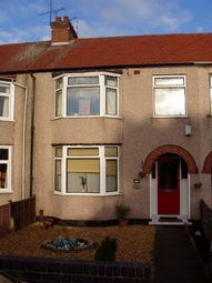 Thumbnail 3 bed terraced house to rent in Whoberley Avenue, Coventry