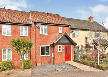 Thumbnail 2 bed terraced house for sale in Captain Ford Way, Dereham