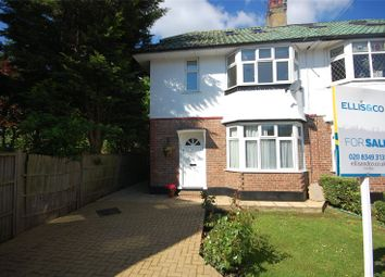 Thumbnail 2 bed flat for sale in Abercorn Close, Mill Hill East, London