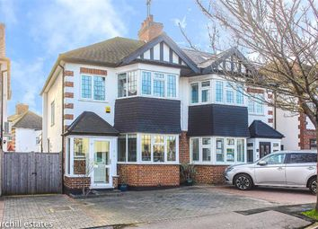 Thumbnail 3 bed semi-detached house for sale in Eaton Rise, Wanstead, London