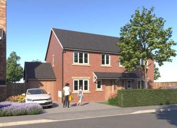 Thumbnail 3 bed semi-detached house for sale in Kingfisher Way, Morda, Oswestry